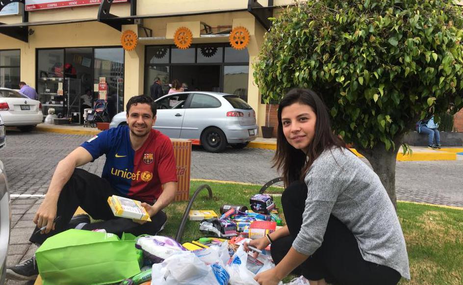 Líderes de Puebla organiza eventos para ayudar a los necesitados